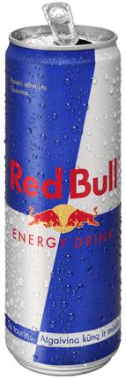 Red Bull energetinis gėrimas